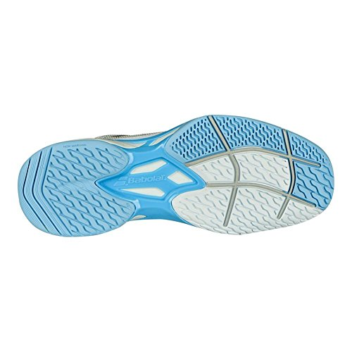 Babolat - Jet Mach I Allcourt Damen Tennisschuh (weiß/hellblau) weiß