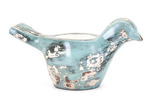 Pajaro Pottery Bird Candle by CC Home Furnishings