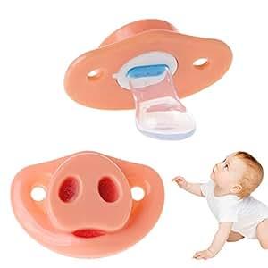 Amazon.com: Horoshop - Chupete para bebé, piñón para la ...