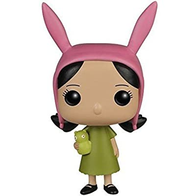 Funko POP Animation Bob's Burgers Louise Action Figure: Funko Pop! Animation:: Toys & Games