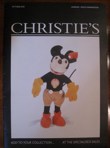 CHRISTIE'S - Add to your collection... At the Specialised Sales (OCTOBER 2010 - London - South Kensington) (2010 Calendar Bears)