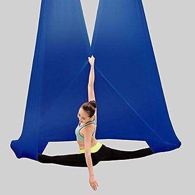 Alger Ceinture extensible de yoga de harnais de yoga de hamac de yoga pour les débutants, 700 * 280cm