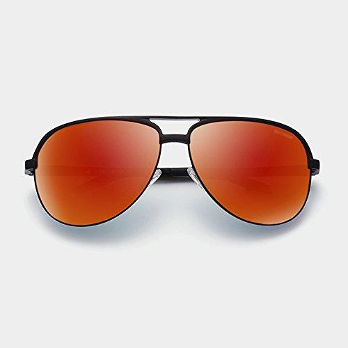 de de Color de sol Neutral Gafas de conducción Gafas sol hombre UV400 de SSSX para sol Gafas sol polarizadas A A de aviador Gafas 10R65Oq8