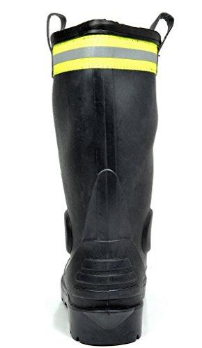 PAIRS Boots 0615w DREAM Snow Rubber Rain Sole Winter black Mens pdRqxB6O