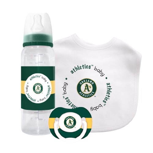 MLB Oakland Athletics Baby Gift Set