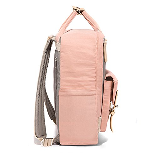 female wind school Backpack Korean college fresh versatile Powder bag With leisure large high trend Donuts capacity of student Ash junior shoulder bag school small version the elementary wrgnpqxr