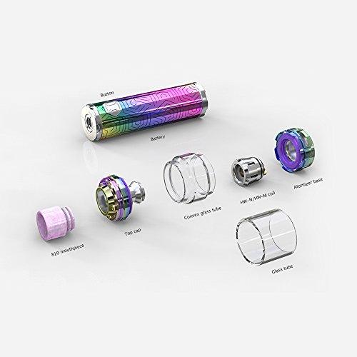 Eleaf iJust 3 con ELLO Duro Kit 3000mAh 80W E-cigarette Vape Pen, no nicotina y tabaco (Deslumbrante): Amazon.es: Salud y cuidado personal