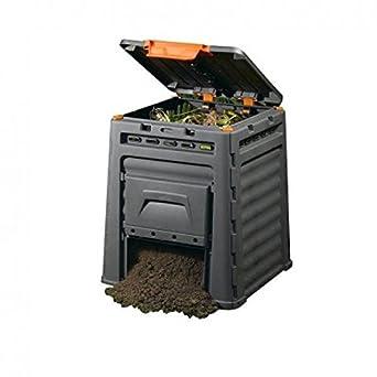 Keter 0005534 Compostador, 65 cm x 65 cm x 75 cm