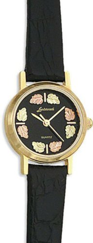 Landstroms Ladies Black Hills Gold Wrist Watch - 09250