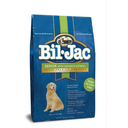 BIL-JAC 319073 Senior Dry Food for Dogs, 30 lb
