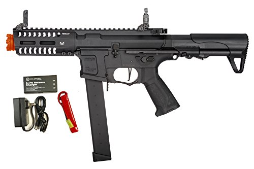 G&G CM16 ARP-9 CQB 6mm AEG Airsoft LiPo Battery & Charger Combo w/MOSFET (Battery Style Lipo)