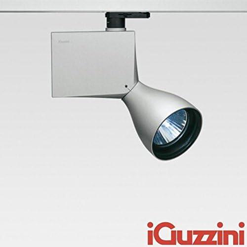iGuzzini Proyector orientable 6408 gris negro incluye lámpara ...
