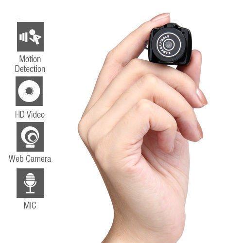 (New Spy Smallest Mini Camera Camcorder Video Recorder DVR Hidden Pinhole Web cam)