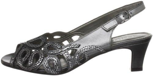 Harper Tacón Blanco Material Pewter snake De Mujer Lotus Zapatos Sintético dt46Iw