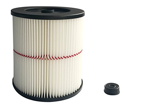 Wet Cartridge Filter - Super air Vacuum Cartridge Filter fits for Craftsman 17816