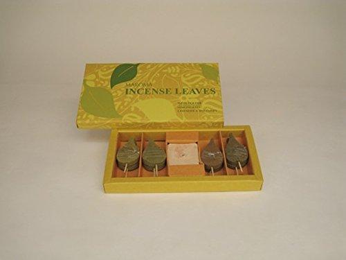 Maroma Incense Leaves, Lavender Rosemary and Lemongrass