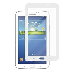 EvaClear Samsung GALAXY Tab 3 7.0 GT-P3210 High Definition HD Screen Protector (White Border) Bubble Free