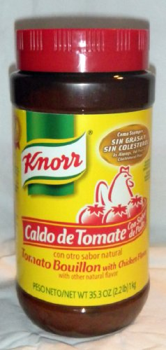 1 X Knorr Caldo De Tomate - Tomato Bouillon 35.3oz/2.2Lb Bottle Product From Mexico