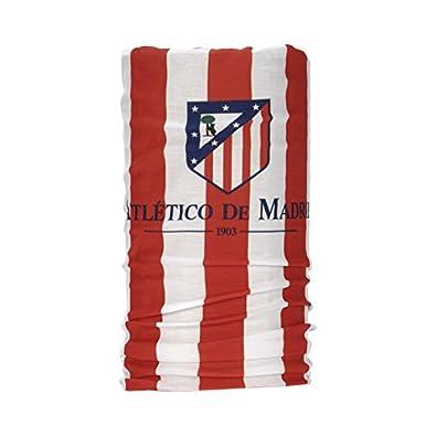 Wind X Treme Atlético de Madrid - Braga cuello multifunción, color rojo /blanco,