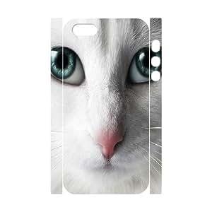 Case for iPhone 5,5S 3D Bumper Plastic,Customized case Of Cat