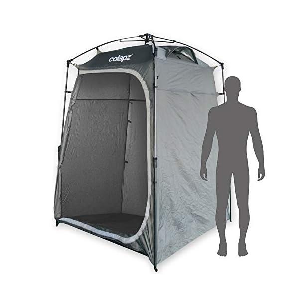 41eWhTtBAEL Colapz Duschzelt Camping - Camping Toilette hoch - Mobiler Sichtschutz Outdoor Pop Up Changing Tent - Mobile Dusche Zelt