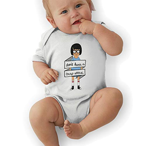 Don't Have A Crap Attack Bob's Burgers Unisex Baby Girls' Baby Boys' Short-Sleeve Onesies Bodysuit