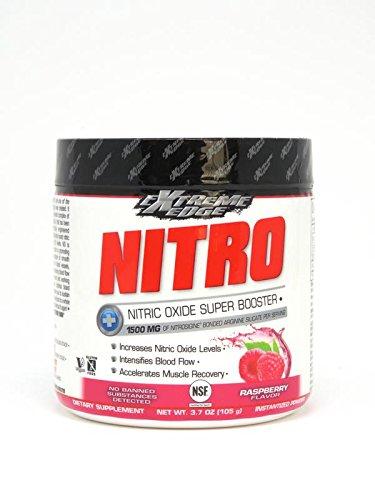 BLUEBONNET NUTRITION EXTREME EDGE® NITRO POWDER RASPBERRY FLAVOR - Edge Powder