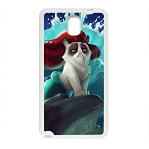 Red hair cat mermaid Cell Phone Case for Samsung Galaxy Note3