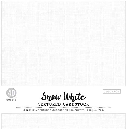 (Colorbok Textured Cardstock Paper Pad, 12
