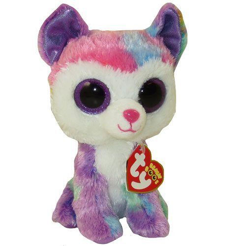 TY Beanie Boo ~ Izabella the Husky Dog ~ Claire's Exclusive by