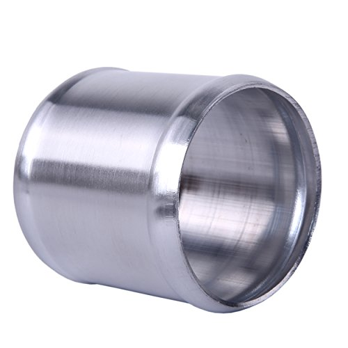 (Hiwowsport Alloy Aluminum Hose Adapter 76mm Length Joiner Pipe Connector (63mm (2.5 inch)))