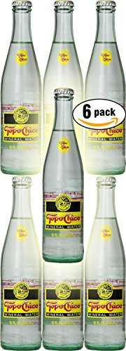 Topo Chico Mineral Water, 12oz Glass Bottle (Pack of 6, Total of 72 Fl Oz)