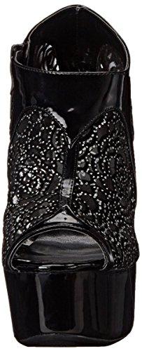 Rayna Ellie Women's Black Boot 609 Shoes ttSPqwZ