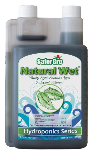 Safergro Unconstrained Wet Certified Organic Wetting Agent Concentrate, 1-Quart