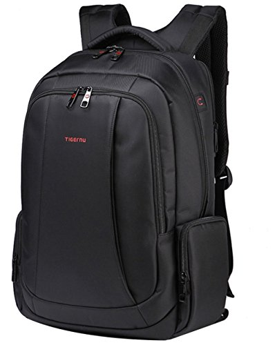 Uoobag KT-01 Slim Business Laptop Backpack Anti-theft Travel Bag Up To 15.6 Black