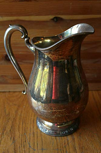 Water Pitcher International Silver Co Camille Pattern Vintage 6017 Silverplate