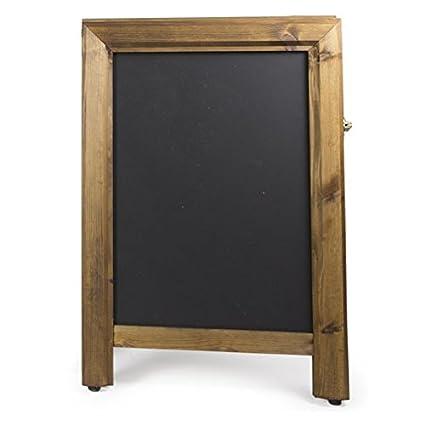Chalkboards UK Pizarras de Pizarra Cuadrada Premium con ...