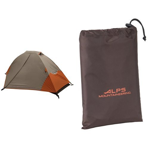 (ALPS Mountaineering 5024617 Lynx 1-Person Tent and ALPS Mountaineering Lynx 1 Person Tent Floor Saver Bundle)