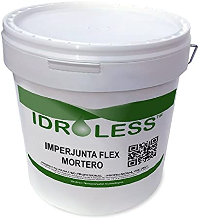 Mortero Imperjunta Flex de Idroless - 5 kg, Blanco