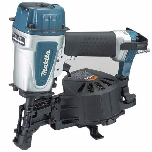 Makita AN453-R 15 Degree 3/4 in. – 1-3/4 in. Coil Roofing Nailer (Renewed)