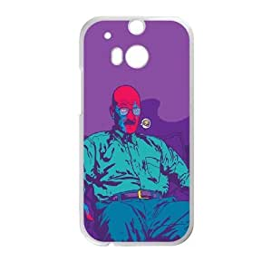 HTC One M8 Cell Phone Case White Breaking Bad Vector LV7162040