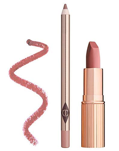 Charlotte Tilbury Pillow Talk Bundle with Matte Revolution Lipstick in Pillow Talk and Lip Cheat in Pillow Talk (2 Items) by CHARLOTTE TILBURY