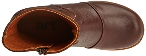 Memphis wax Brown 1016 Marrón Mujer para Botas Art Zundert 0wqXROTRY