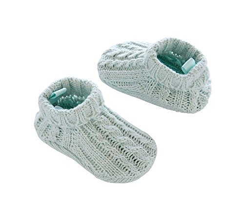 Cable Knit Booties - Carter's Baby Girls' Cable Knit Booties Blue