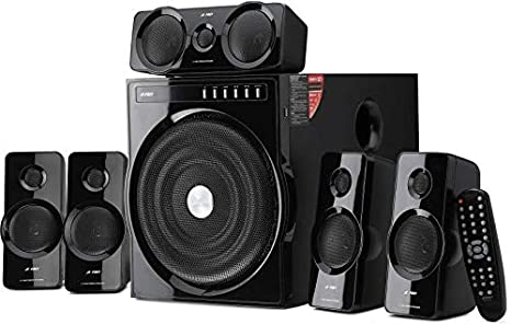 F D F6000X Powerful 135W Bluetooth Home Audio Speaker   Home Theater System  5.1, Black  Bluetooth Speakers