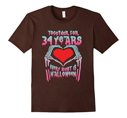 Mens Halloween Costume For Couple. 34th Wedding Anniversary Gifts Medium Brown