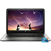 HP Flagship 17.3 HD+ (1600 x 900) Notebook Laptop PC, Intel Core i3-5005U Dual-Core, 6GB DDR3, 1TB HDD, Bluetooth, WIFI, DVDRW, Windows 10, Silver