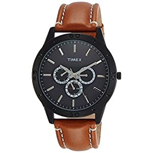 Timex Analog Black Dial Men's Watch – TW000U913