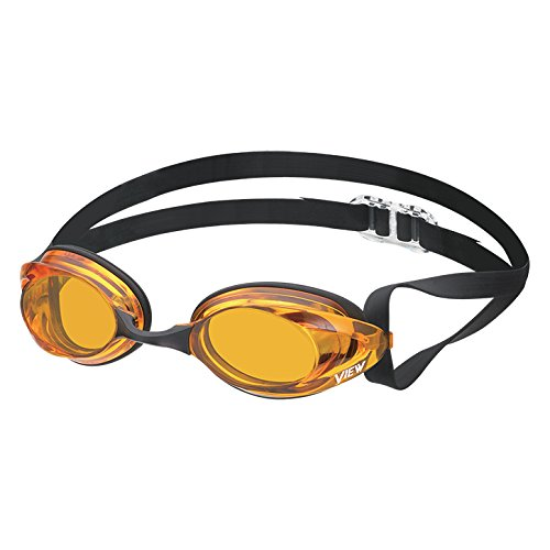 VIEW Swimming Gear V-125 Blade Zero Racing Goggle, - View Goggles