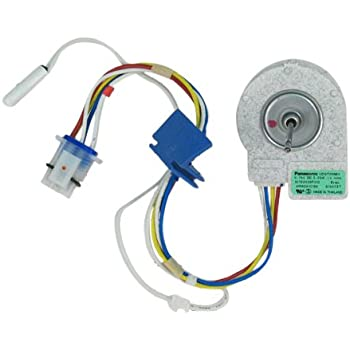 Ge wr60x10074 fan motor for refrigerator home for Ge refrigerator evaporator fan motor problems